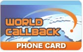 WorldCallback Phone Card